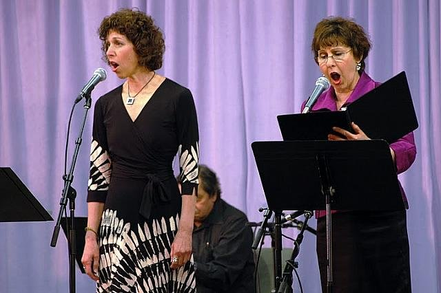 Robyn Helzner and Rochelle Helzner Cantors Concert.jpg