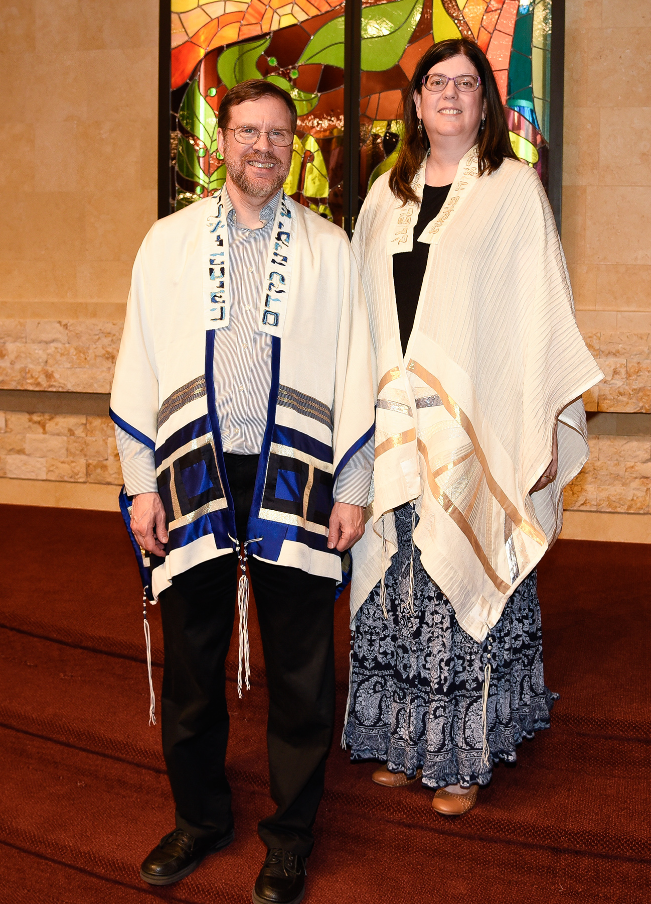 Tallit-Bergers joint
