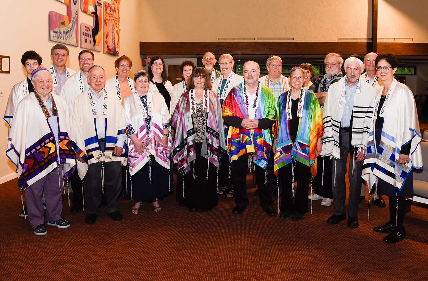 Tallit-group of 20 photo by Larry M Levine