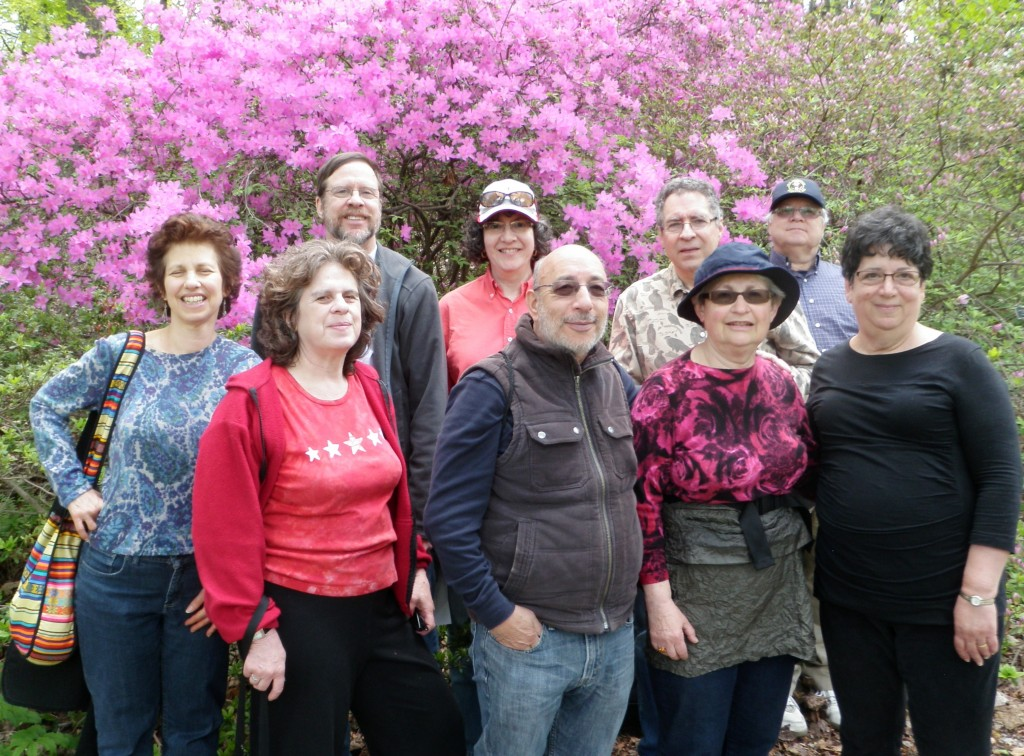 Outdoors Havurah at national Arboretum