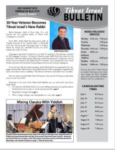 Bulletin July August 2015